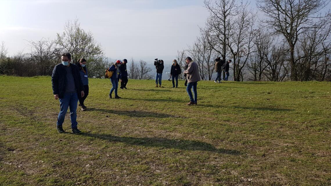 Recherche de la météorite d'Aiguillon